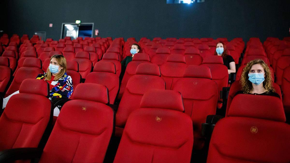 Открытие кинотеатров Украины: правила и ограничения – видео