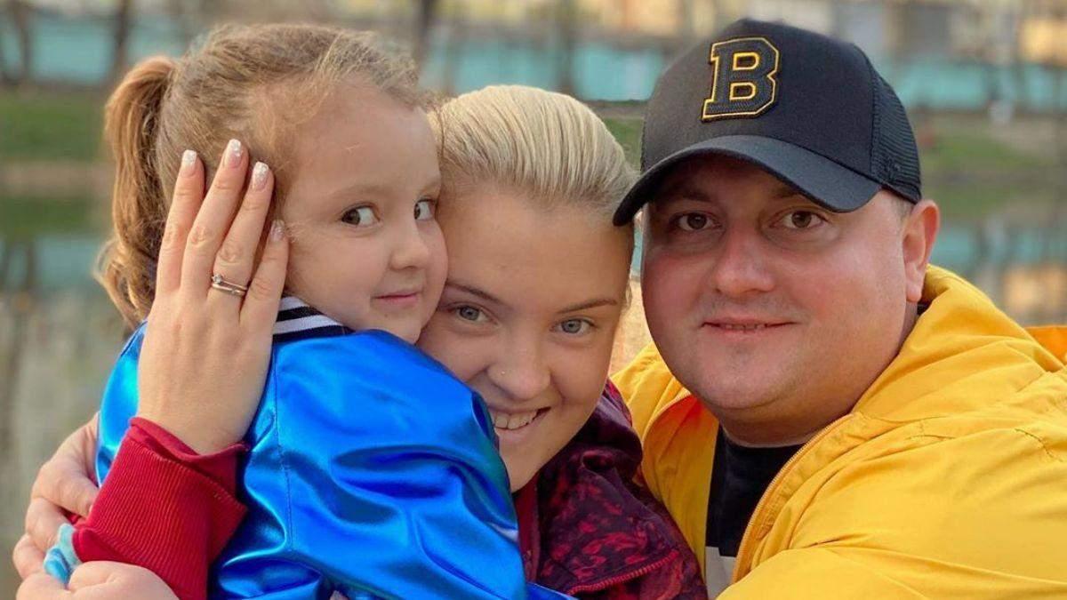 Юрій Ткач з дружиною і донькою