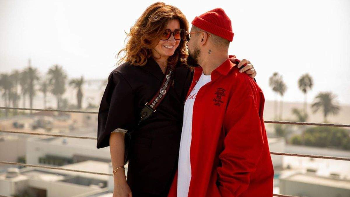 Монатик с женой Ириной