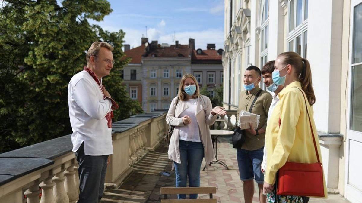 Андрій Садовий підтримує зйомки фільму у Львові