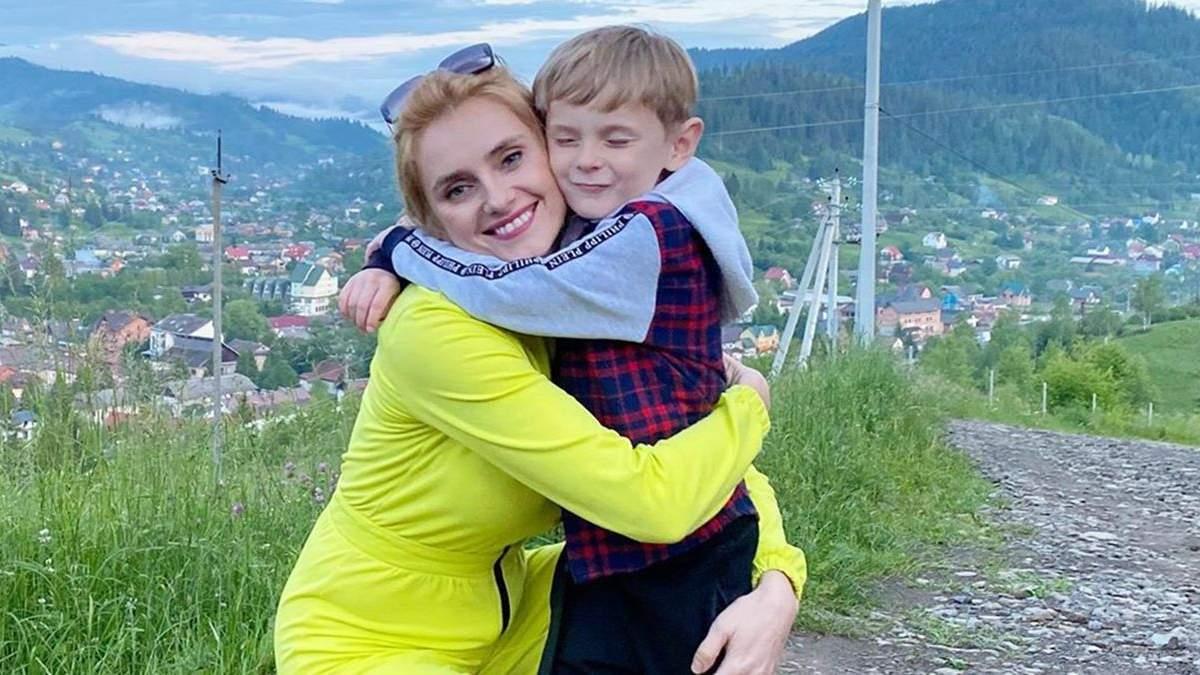 Ірина Федишин зворушливо привітала сина з днем народження