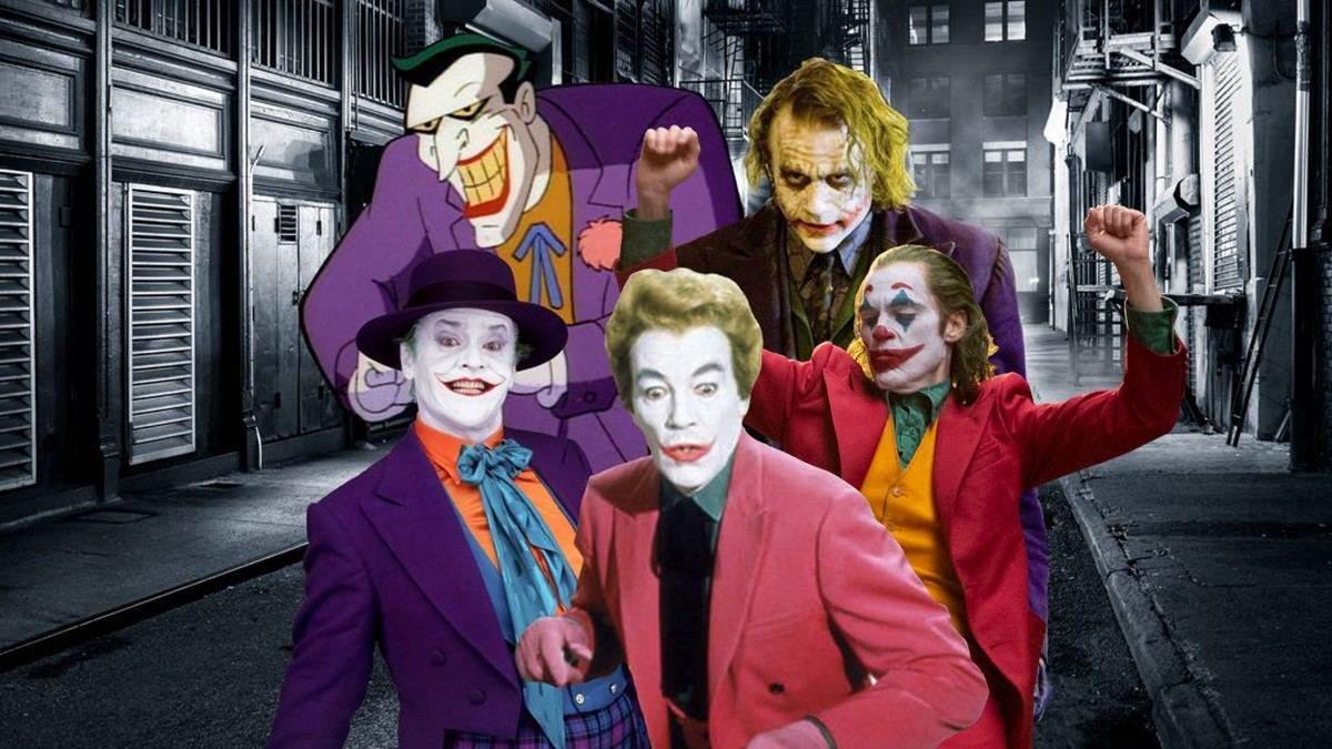 Джокер: эволюция образа в фильмах и сериалах