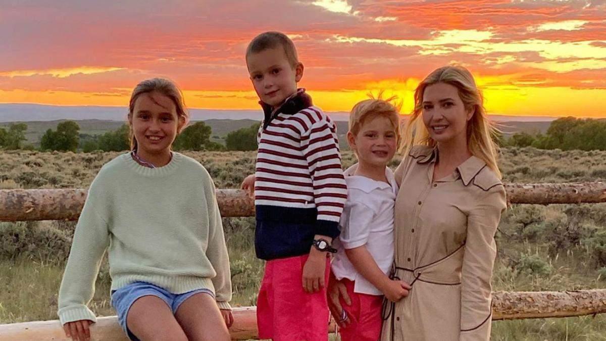 Иванка Трамп с детьми поздравила с Днем независимости США