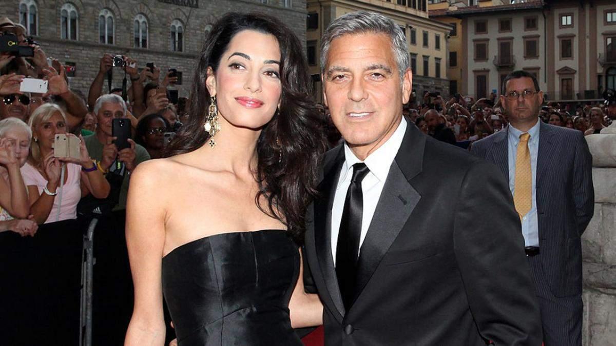 Джордж и Амаль Клуни пожертвовали деньги