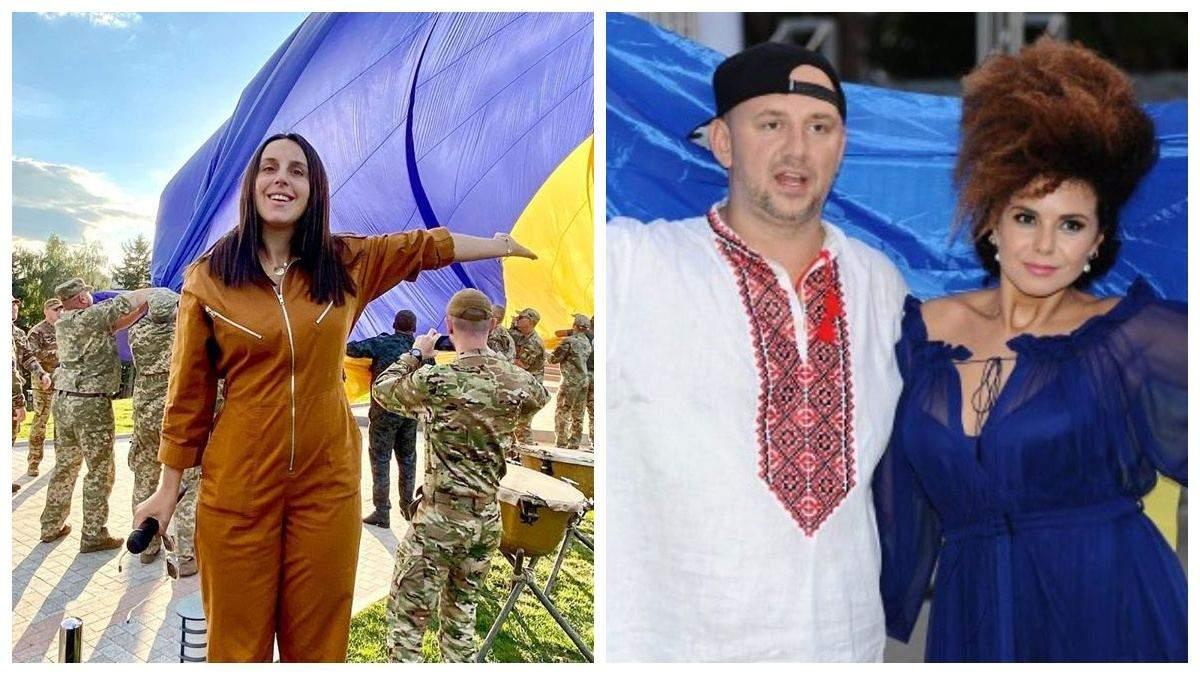 Украинские звезды поздравили с Днем флага
