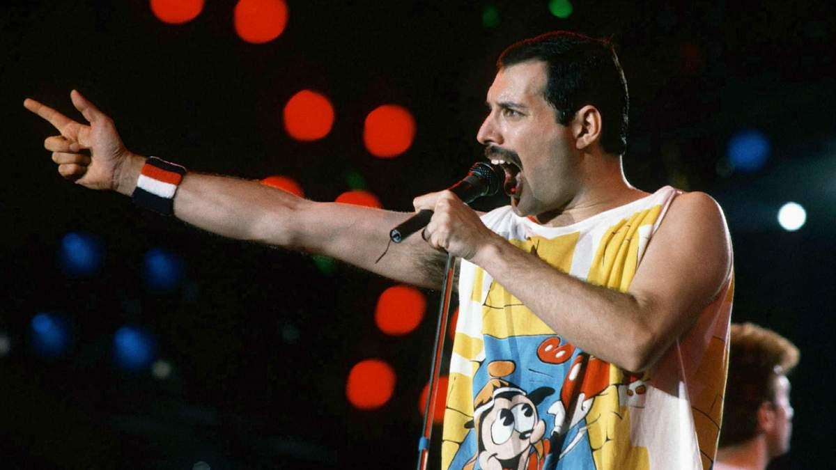 Фредді Мерк'юрі – рок-зірка 80-х