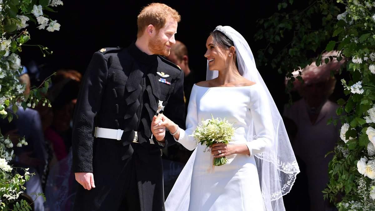 Подробиці церемонії одруження принца Гаррі та Меган Маркл
