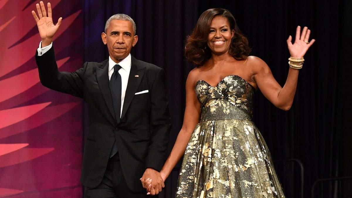 Мишель Обама показала свадебное фото