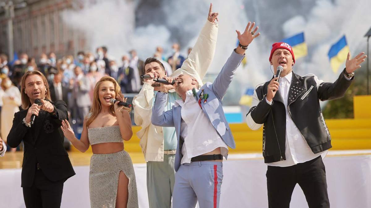 Артисти на концерті до Дня Незалежності виступали безкоштовно