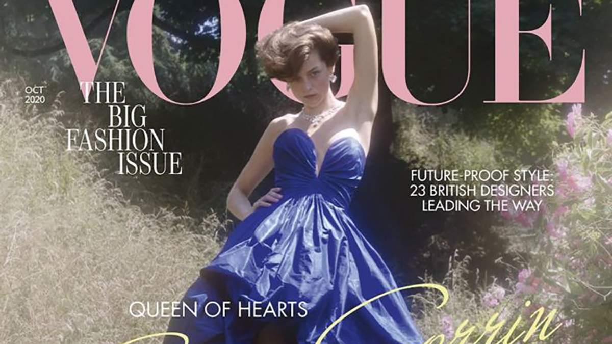 Эмма Коррин снялась для обложки Vogue