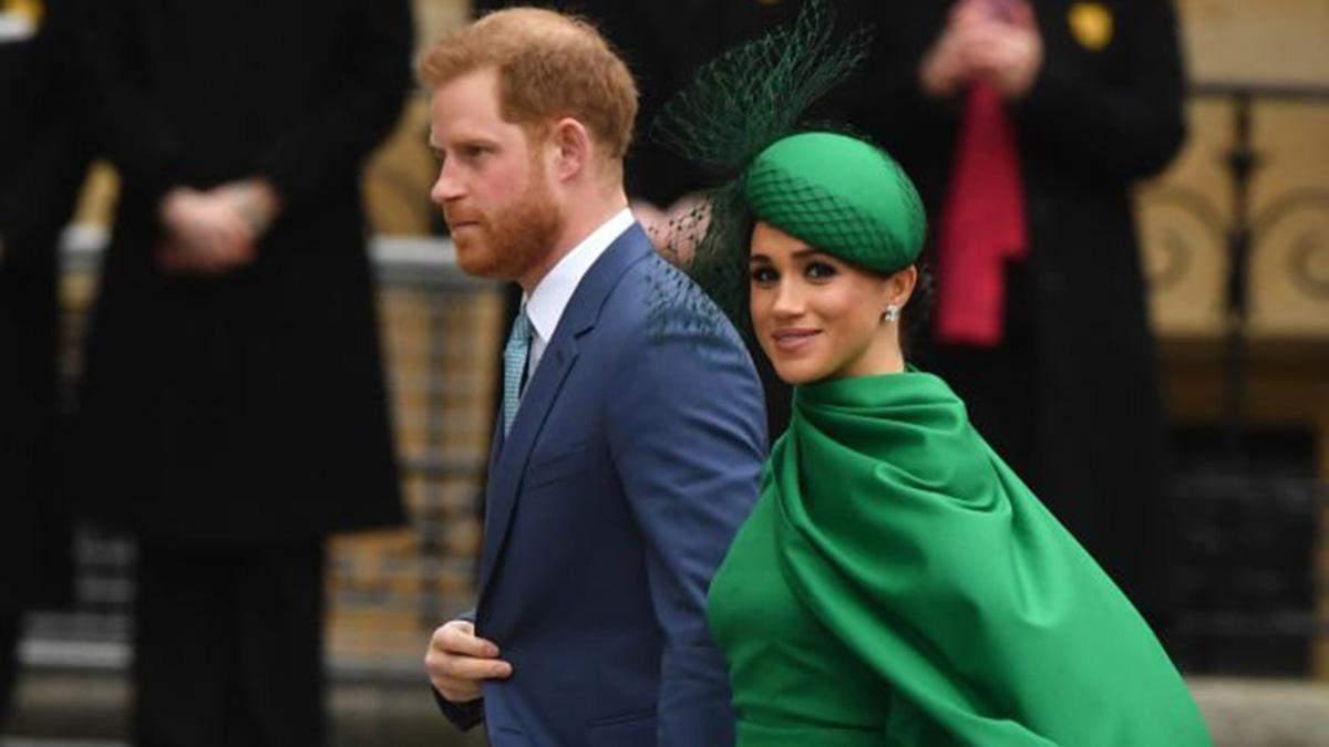 Принц Гаррі і Меган Маркл: робота на Netflix