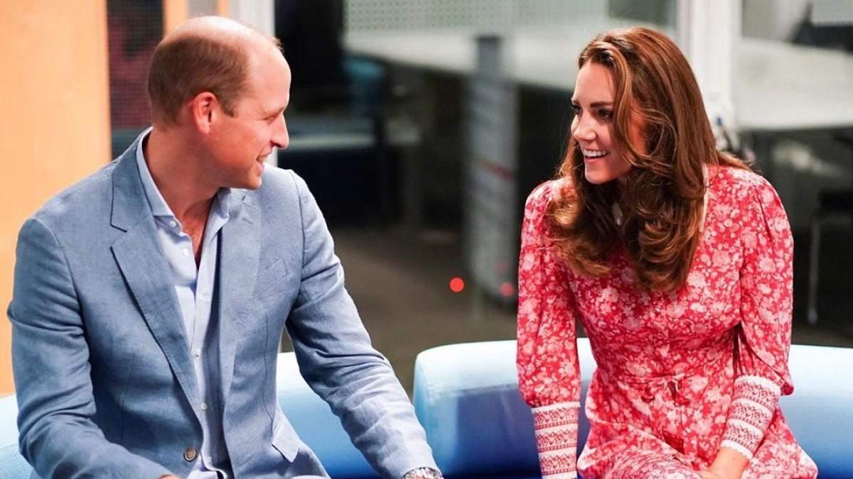 Принц Уильям и Кейт Миддлтон в Лондоне