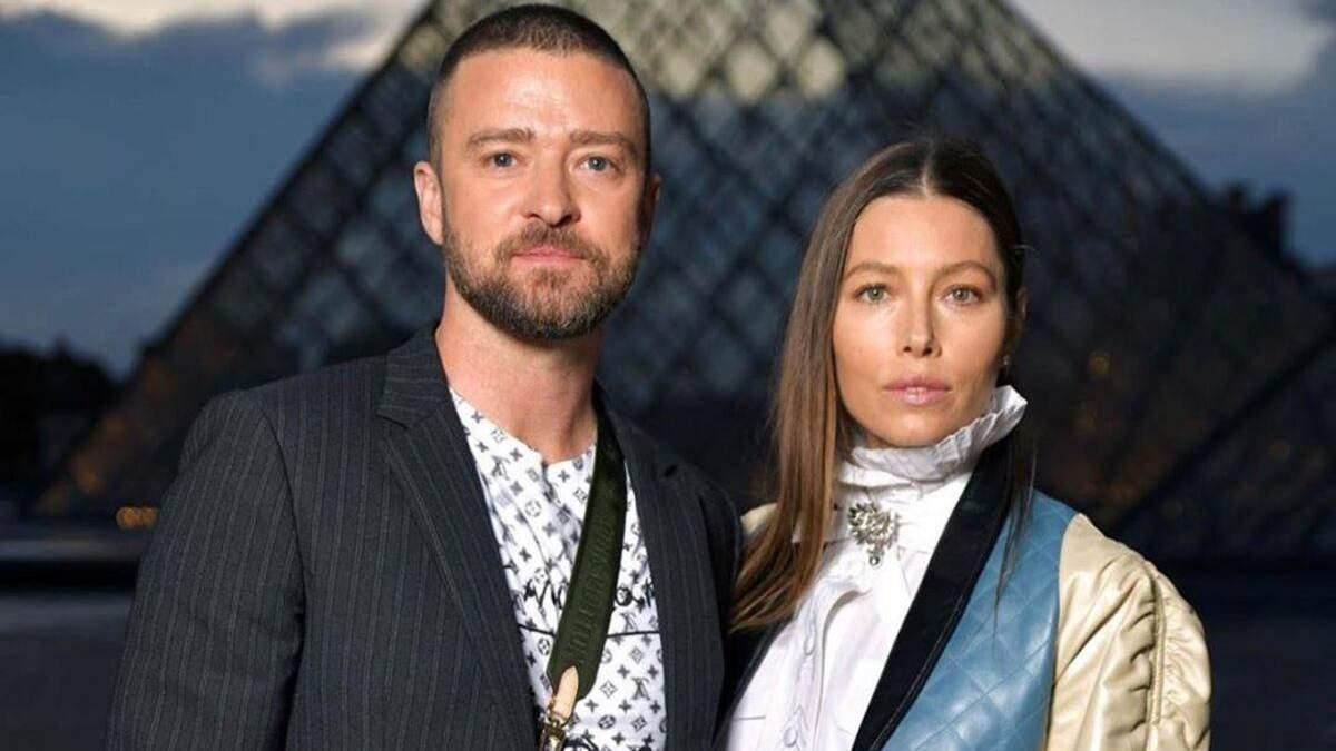 Джастін Тімберлейк з дружиною