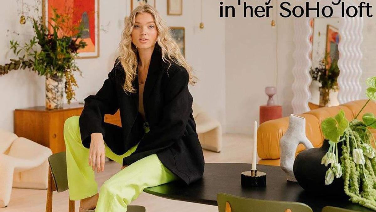 Шведская модель Эльза Хоск показала свою роскошную квартиру: захватывающие фото