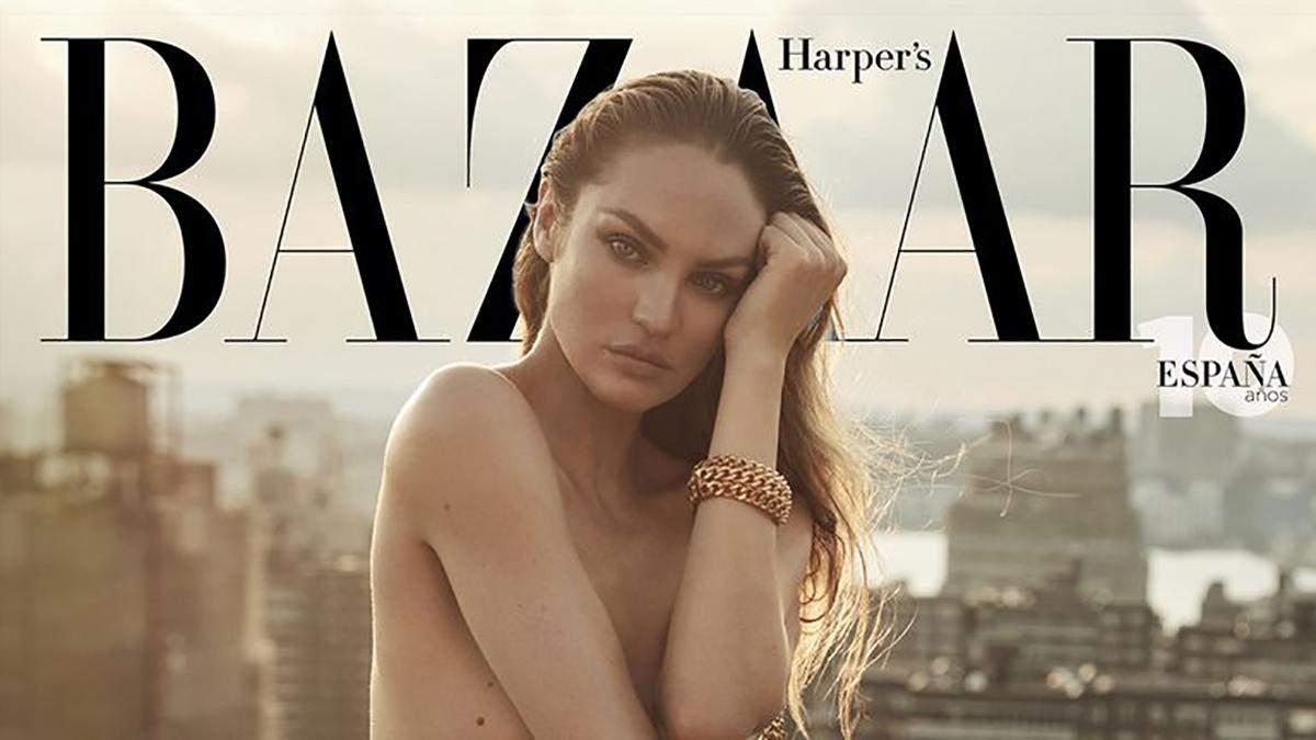 Кендіс Сванепул для іспанського Harper's Bazaar