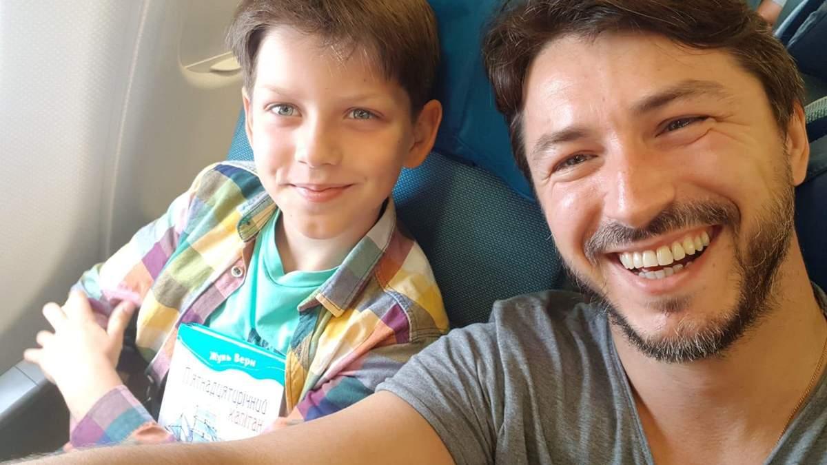 Сергей Притула поздравил сына с днем рождения