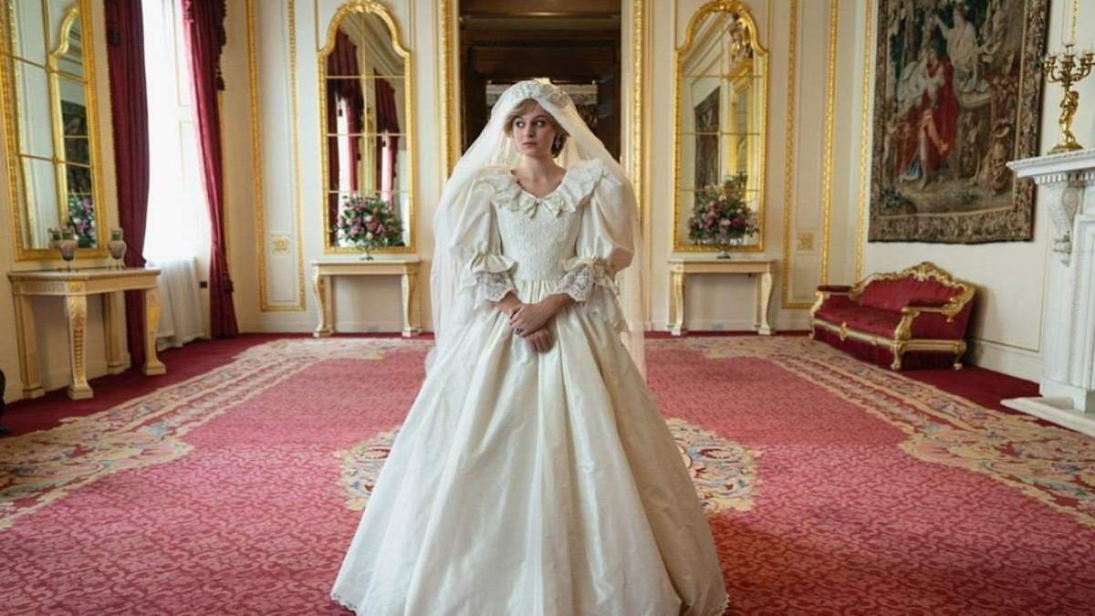 """Сериал """"Корона"""" создал точные копии одежды принцессы Дианы"""