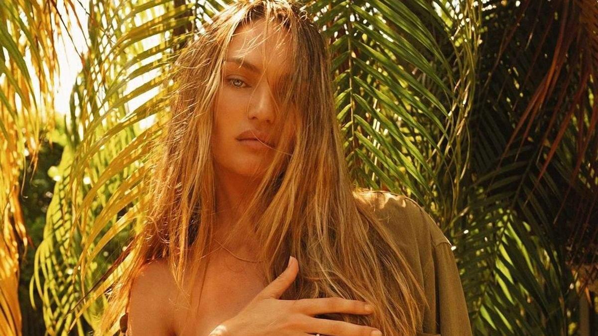 """Мама двоих и """"ангел"""" Victoria's Secret Кэндис Сванепул полностью обнажилась в фотосессии 18+"""