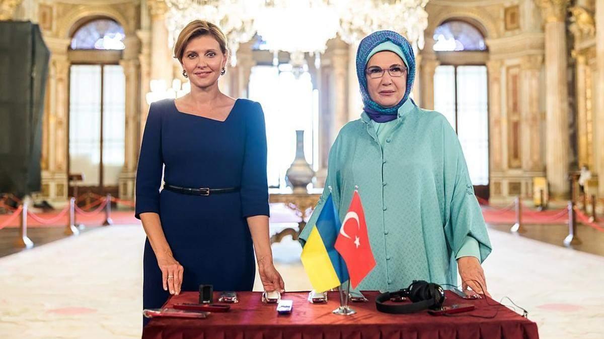 Олена Зеленська в Туреччині