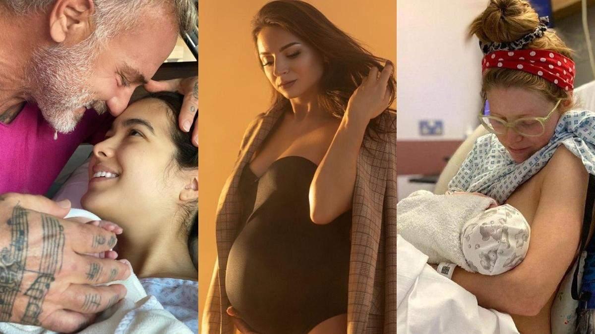 Які знаменитості стали батьками у жовтні