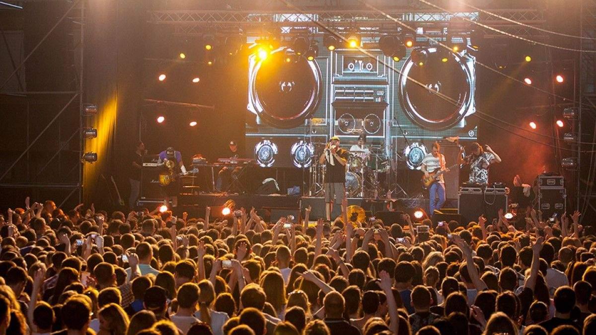 Концерт гурту Бумбокс 2020 зупинили у Львові