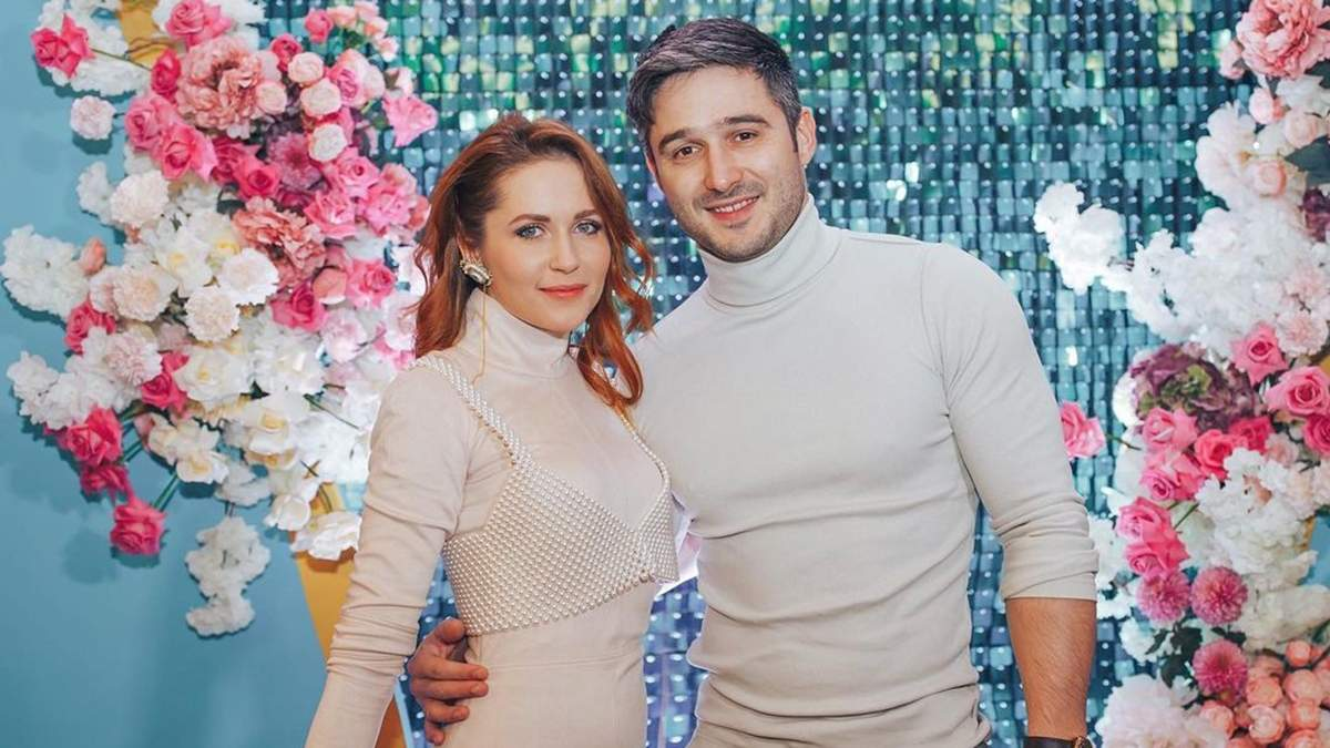 Наталія Денисенко з чоловіком