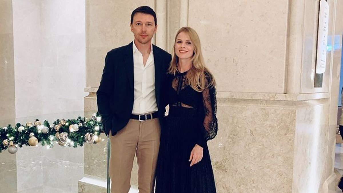Оля Фреймут з чоловіком