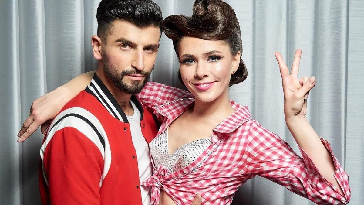 Юлія Саніна і Дмитро Жук на Танцях з зірками