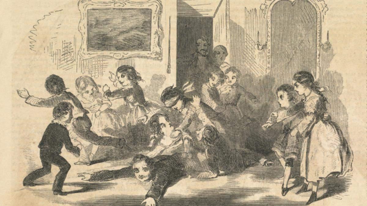 Які ігри були в Англії 150 років тому