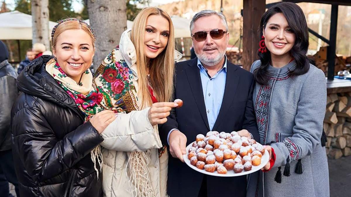 Иван Гаврон вместе со звездными гостями фестиваля