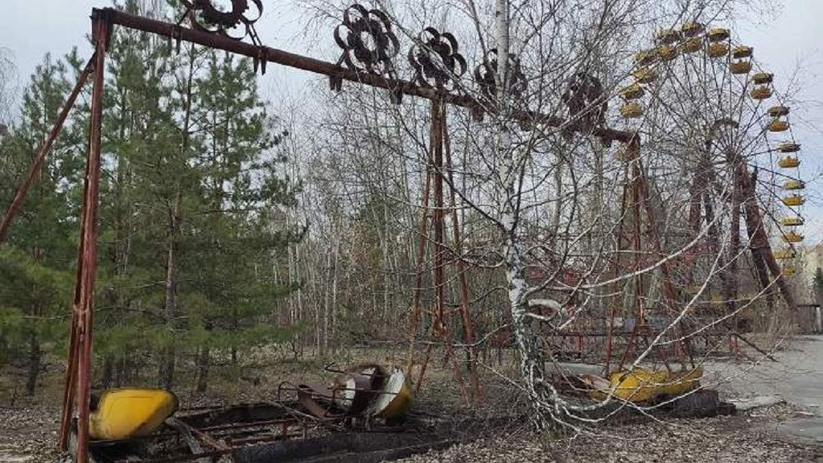 Парк відпочинку і Колесо Огляду в Прип'яті