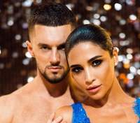 """Санта Дімопулос і Максим Леонов перемогли на """"Танцях зірками 2020"""": відео всіх виступів"""