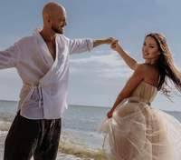 Влад Яма показав фото з весілля: миловидний кадр
