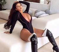 Без бюстгальтера: Деми Роуз показала огромную обнаженную грудь – дерзкое фото 18+