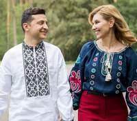 Все, що потрібно для щастя: Олена Зеленська зворушливо привітала чоловіка з днем народження