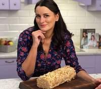 """Торт """"Поліно"""" з домашнього листкового тіста за рецептом Лізи Глінської"""