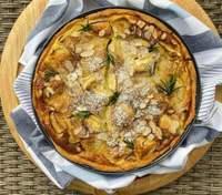Нормандський тарт з яблуками за рецептом Ольги Мартиновської