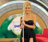 Ирина Федишин поразила образом в черном платье и с новой прической: фото