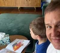 Юрій Горбунов показав, як проводить вихідний з сином: милі фото