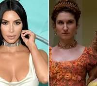 """Актриса """"Бріджертонів"""" заявила, що Кардашяни повпливали на серіал: курйозна реакція Кім Кардашян"""