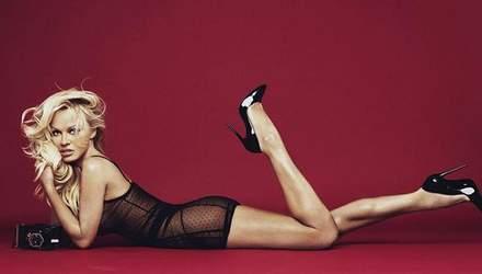 50-летняя Памела Андерсон показала стройную фигуру в рекламе белья: фото