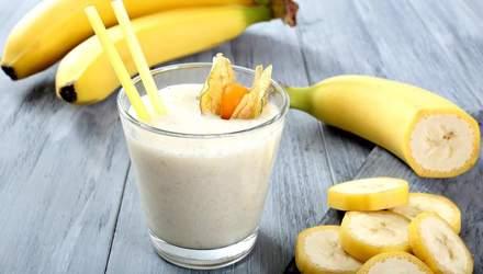 3 ароматні рецепти бананових напоїв, які вилікують кашель