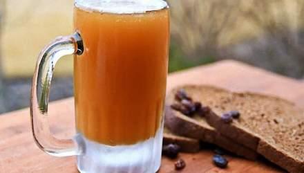 Смачний рецепт квасу із березового соку