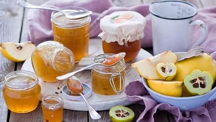 Варення з айви: рецепти приготування – традиційний, з лимоном та яблуками