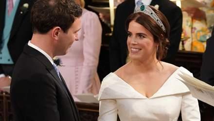 Принцеса Євгенія та Джек Бруксбенк обмінялись обручками: зворушливі фото і відео