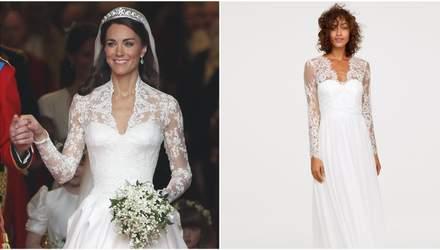 Весільну сукню як в Кейт Міддлтон можна придбати за 200 доларів