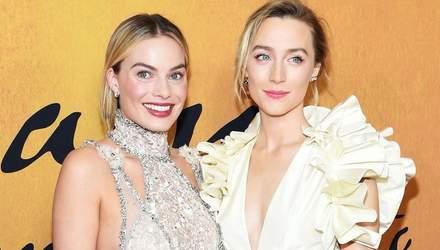 Дві королеви: Марго Роббі та Сірша Ронан відвідали прем'єру фільму за своєю участю