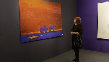 В Киеве открылась уникальная выставка самого дорогого художника Украины
