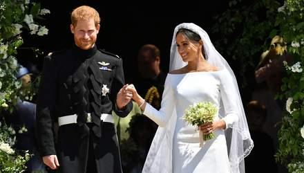 Планували до найдрібніших деталей, – принц Гаррі та Меган Маркл розповіли про своє весілля