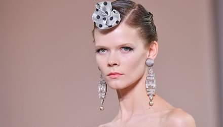 Українська модель Ірина Кравченко взяла участь у показі нової колекції Giorgio Armani: фото